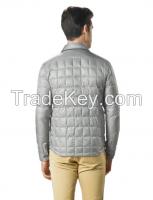 Men's packable Down Shirt Jacket