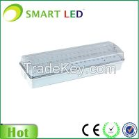 IP65 8W SMD3528 Maintained & Non-mainatined Emergency Exit Sign bulkhead