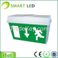 3W led exit sign Maintained & Non-maintained