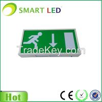 Exit Sign Box Illuminated