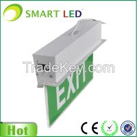 Insert ceiling mounted 3W Emergency Exit Sign
