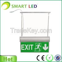 Hanging type LED Acrylic exit sign