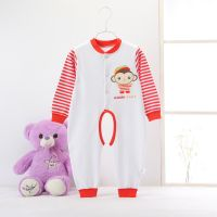 0-3 ages baby jumpsuits long sleeves pure cotton spring autumn use