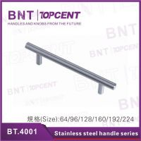 Stainless steel furniture handle T bar drawer pulls