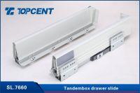 Kitchen metal tandem box drawer slides