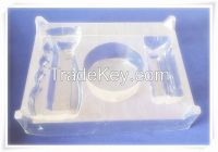 Clear PVC blister packing tray