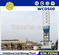 500t/h dry concrete batching plant / stabilized soil batching plant