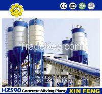 HZS90 concrete batching plant for sale