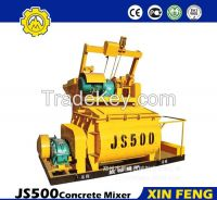 JS500 Concrete mixer price made in China