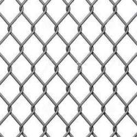 Galvanized Chain Link Fence for Garden, Farm, Prison , Perimeter, Boundary, Landscaping  | Max Quality | Made in Thailand