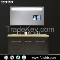 FOTO Lighted TV Mirror