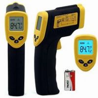 Backlight Digital Non-contact Forehead Infrared Thermometer Temperature Gun with Fever Indicator