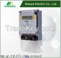 electric  3 phase 4 wire energy meter connection Electric Power