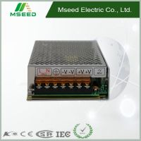 ROSH, KC, certified manufacturer MS-150 with Good Quality mode ac dc industrial dual output Switch Mode Power Supply