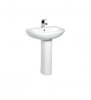 Stand Pedestal White Basin