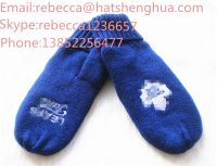 wholesale customer glove with embroider