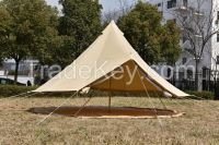 4M outdoor camping luxury bell tent