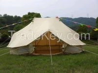 6M double pole bell tent