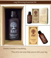 China Plant Essential Oil Slimming Leg Skin Care Protect