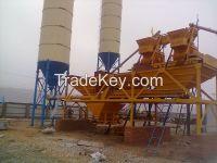 SGS Quality 50m3/h HZS50 Concrete Batching Plant