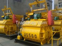 JS500 Twin shaft Forced Concrete Mixer