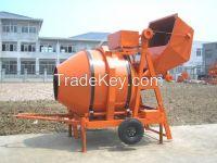 JZR350 Diesel Hydraulic Mobile Drum Concrete Mixer