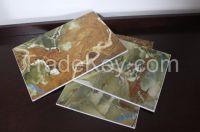 Decoration board UV coating
