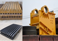 High capacity jaw crusher