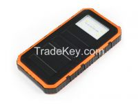 Led Flashlight Power Bank 8000mAh Solar Powerbank(SPB198)