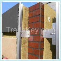 External Wall Insulation Panel Rockwool Board for Fire Barrier