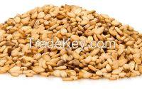 White and Light Brown Sesame Seeds