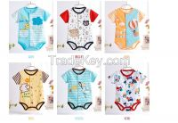 Baby baby clothes Summer Triangle leotard summer newborn clothing cot