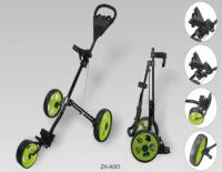 3 wheels hand push golf cart