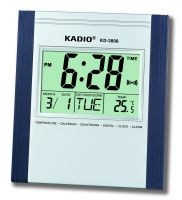 Digital Clock Wall Clock LCD Clock WITH CALENDER KD-3808