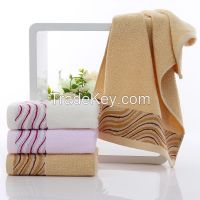 customized designs cotton terry hand towels made in china factory