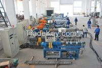 High Torque 160kw 6Co-rotating Twin Screw Extruder for PP Granules