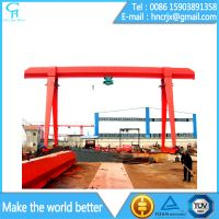 MH Model Electric Single Girder Gantry Crane 10 Ton