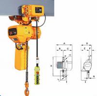 0.25-15ton  Electric/Hand Chain Fall Hoist