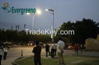 all in one solar street light integrated solar led street light
