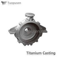 Titanium alloy casting  pump casing Grade C2/3/5