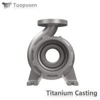 ASTM B367 titanium investment casting valves