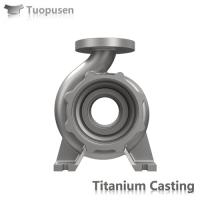 ASTM B367 titanium investment casting valves