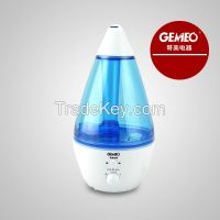 Drop shape spray mist LED aromatherapy Humidifier GL-6650