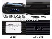 UV light car use anion air purifier GL-3106