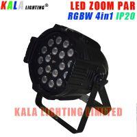DJ Party Stage Indoor IP20 Zoom PAR Can 18X10W RGBW 4in1 Quad-color LED PAR Light