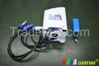DJ Party Wedding LED Floodlight 4X18W RGBWA+UV 6in1 LED Wireless DMX Battery Powered PAR Light Wash Uplight