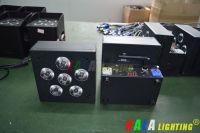 DJ Party Wedding LED Floodlight 6X18W RGBWA+UV 6in1 LED Wireless DMX Battery Powered Wash PAR Light