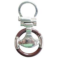 Steering Wheel Shaped Keychain Design