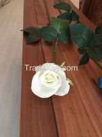 Silk floral factory wholesale real touch rose flower