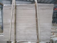 Chinese White wood marble